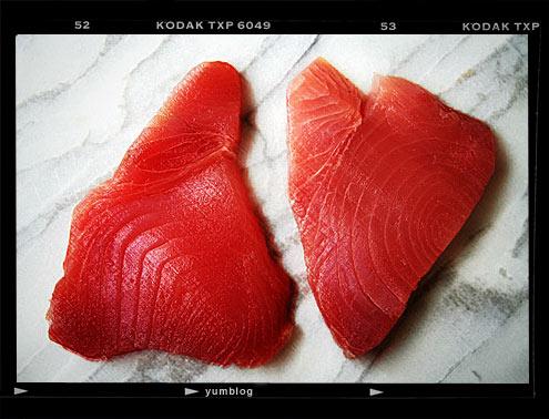 Tuna confit salad