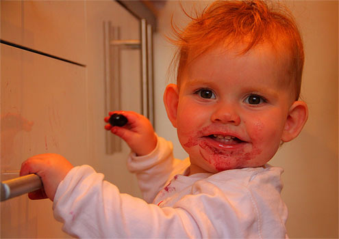 Yumblog Junior discovers cherries