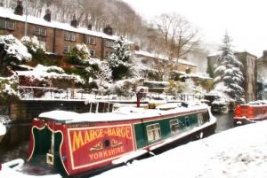 Snow at yumblog cottage
