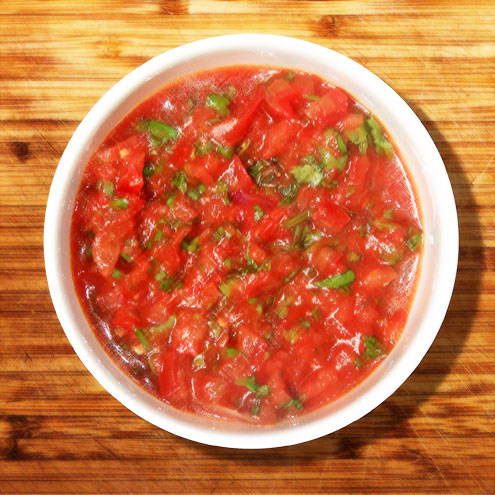 spicy tomato salsa