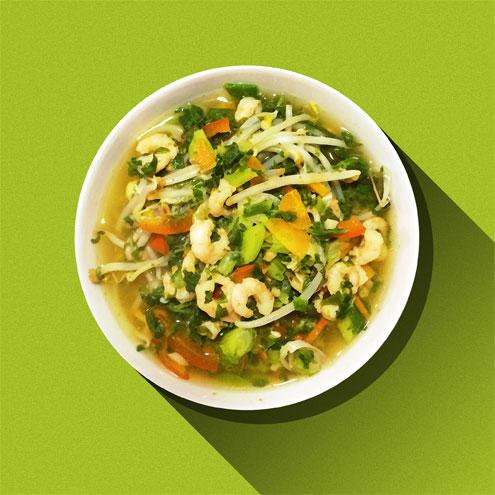 Vietnamese Prawn Pho - Vegetarian Recipes